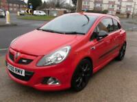 GOOD CREDIT HISTORY CAR FINANCE 2010 60 VAUXHALL CORSA VXR 1.6T RACING EDITION