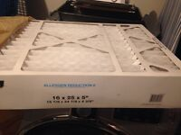 Brand new furnace filter (16x25x5).  Paid $45.