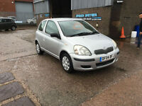 2004 TOYOTA YARIS 1.0 VVT-i T3 3 DOOR HATCHBACK,73000 MILES WITH FSH.