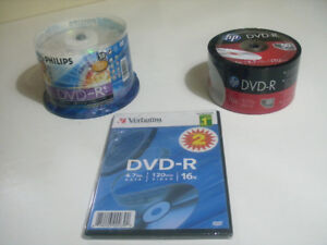 BRAND NEW 50 PACK OF DVD-R's IN THE SEALED RETAIL CAKE-BOX