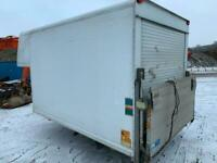 12FT LUTON BODY WITH TAIL LIFT FOR SALE