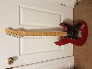 Custom Swamp Ash Fender Guitar