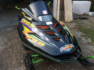 1996 Arctic Cat ZRT 600.with ownership