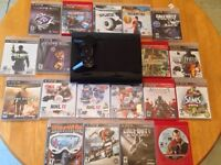 PS3--175$ console 195$ with games NO TRADES
