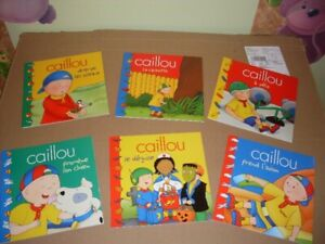 Livres collection Caillou