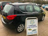 Vauxhall Meriva 1.7CDTi 16v ( 100ps ) auto 2011.5MY Exclusiv LOW MILEAGE DIESEL
