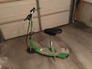 Electric scooter green E200