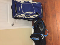 2 HOCKEY BAGS FOR $50 GREAT SHAPE