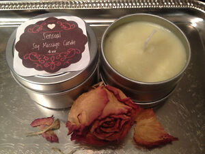 Great GIFTS - Soy Massage Candles