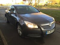 Vauxhall Insignia EXCLUSIV 2.0CDTi 16v (130PS) (grey) 2010