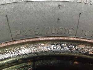 P225/70/16 Winter studded tires. St. John's Newfoundland image 3