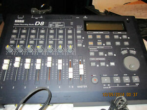 korg d8 digital recording studio