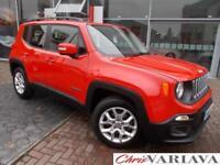 2016 Jeep Renegade LONGITUDE Petrol red Manual