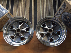 Rims for Mustang 65-67 Styled Steel Wheel Rims