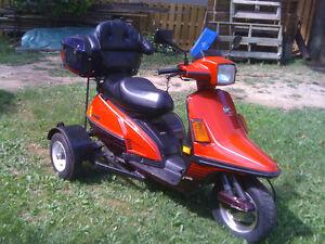 1987 200cc Yamaha Riva