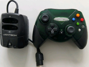 Xbox original wireless controller with receiver.