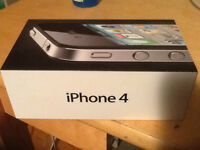 selling iphone 4 8G black barely used