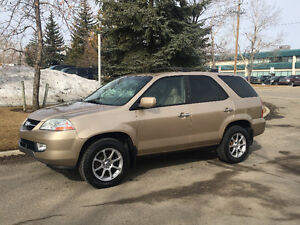 2002 ACURA MDX SUV, LOW KMS NO ACCIDENTS ACTIVE STATUS