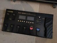 Boss GT-100 Multi Effects Pedal