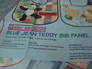 assorted BLUE JEAN TEDDY Material