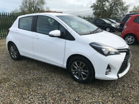 15 TOYOTA YARIS ICON D-4D 44000 MILES 1 OWNER FSH FREE ROAD TAX HIGH SPEC