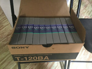Sony VHS protective cases