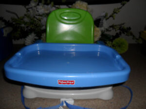 Adjustable Booster Seat Feeding Chair Portable High Chair