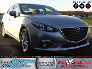 Mazda MAZDA3 GS   Touring   Fuel Sipping   One Owner   2014