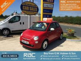 2012 (62) FIAT 500 COLOUR THERAPY 1.2 3 DOOR ** 2 LADY OWNERS**FFSH**ONLY 42K**
