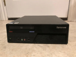 Lenovo M58p Desktop Computer, Dual Core CPU, 4GB RAM, Win10Pro