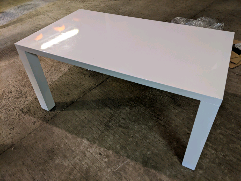 White Gloss Dining Table In Doagh County Antrim Gumtree