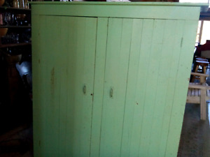 Pair of Farm House Cupboards