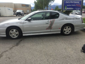 "2001 Monte Carlo ""Official Pace Car"" rare numbered edition"