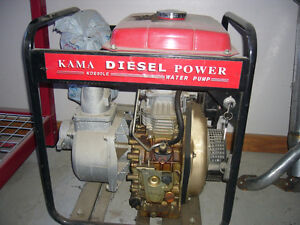 Diesel Power Water Pump Kawartha Lakes Peterborough Area image 1