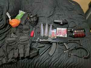 Tippmann a5 moded with gear $600