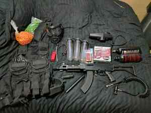 Tippmann a5 moded with gear $400