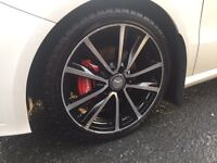 Mercedes a/b/c/e class wheels 18s