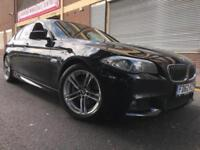 BMW 5 Series 62 REG 2.0 520d M Sport 4 door AUTO, FSH, FULLY LOADED, PRO SAT NAV