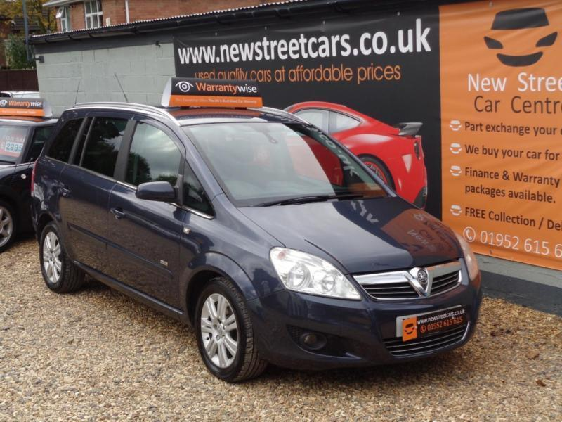 Vauxhall Zafira 1.9CDTi ( 120ps ) 2008MY Design