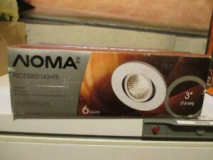"""Noma Recessed Potlights 3"""""""