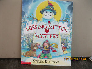 THE  MISSING MITTEN    MYSTERY  YEAR    2002