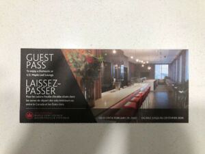 Wanted Air Canada Maple Leaf Lounge Passes