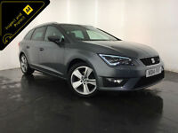 2014 SEAT LEON FR TECHNOLOGY TDI 1 OWNER SERVICE HISTORY FINANCE PX WELCOME