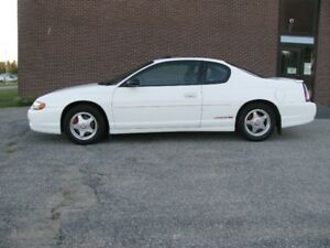 EXCELLENT CONDITION 2002 CHEVROLET MONTE CARLO SS