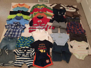 Lot of baby boy clothes (18 months) spring and summer
