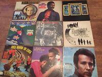 Job lot of 85 Lps Motown, Rock ect