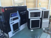 Thermaltake Level 10 GT Snow Edition PC Case Chassis + Free CD/DVD Writer (Mint Condition)