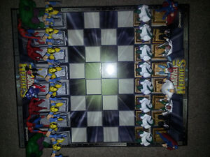 Marvel Heroes Chess Set-VERY RARE. MINT CONDITION ONLY 100$..... London Ontario image 7