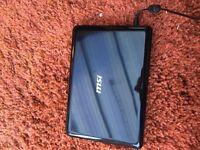 """MSi Wind Netbook U100 series Black 1.6GHz 10.1"""""""