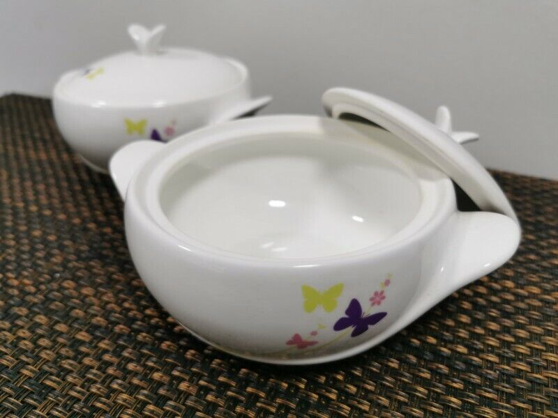 BN*** 2 pieces moderne soup bowl with lid cover